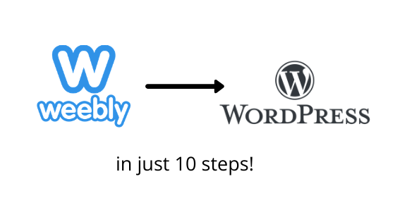 How to Migrate Your Website from Weebly to WordPress in 10 Painful Steps