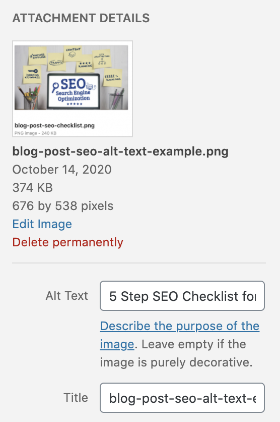 5 Step SEO Checklist for Successful Blog Posts